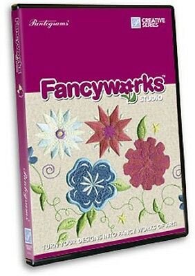 Pantograms Embroidery Machine Software FANCYWORKS Lettering, Editing, Digitizing