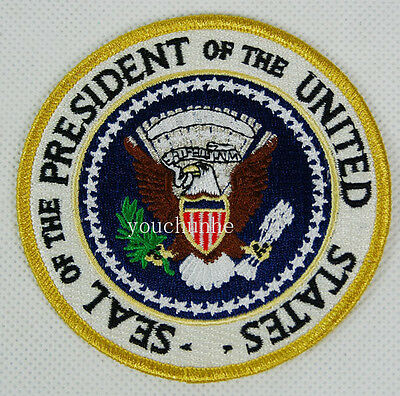 Us Presidential Seal Of The President Embroidered Patch -32276
