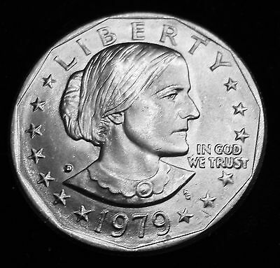 1979-D US Susan B Anthony Dollar - Business Circulated - Denver Mint *