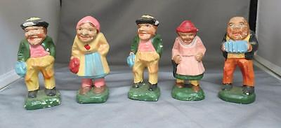 Lot of 5 Vintage Figurines Made in Occupied Japan