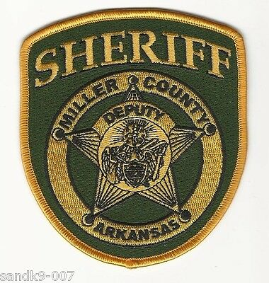 NEW MIller County Sheriff State of ARKANSAS AR Shoulder Patch