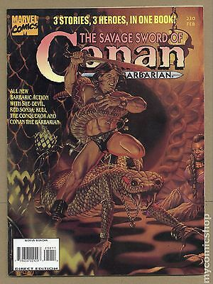 Savage Sword of Conan (1974 Magazine) #230 VG 4.0