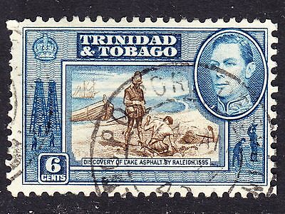 Trinidad & Tobago Scott # 55  F to VF used with a beautiful SON cds.