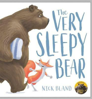 NEW The Very Sleepy Bear By Nick Bland Hardcover Free Shipping