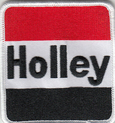 Holley Embroidered Patch