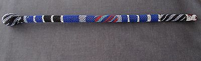 Old African Maasai Beaded Wooden Ceremonial Staff