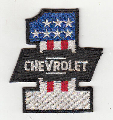 Chevrolet No1 Embroidered Patch