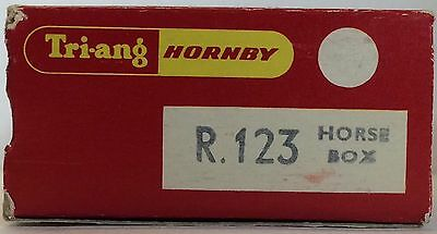 Tri-Ang Hornby R123 Horse Box Wagon OO Scale