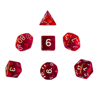 New 7Pcs/Set Geometric Cute Dice numbers Traditional Funny Toy Gift