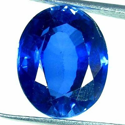 12.35 Cts. Natural Heated Blue Sapphire Oval Precious Cut Excellent Quality Gem