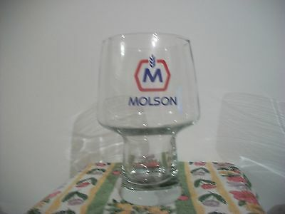 Vintage Molson Canadian Beer Glass