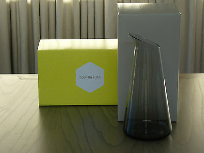 Brand New In Box - Country Road - Spectrum Handmade Glass Carafe