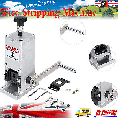 1.5mm-25mm Copper Wire Stripping Machine Cable Stripper Scrap Metal Recycle Tool