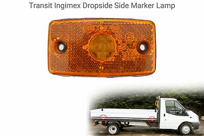 Amber Side Marker to fit Ford Transit Ingimex Dropside Tipper Light/lamp