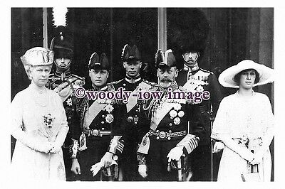 """rs0083 - King George V , Queen Mary & Family - photograph 6"""" x 4"""""""