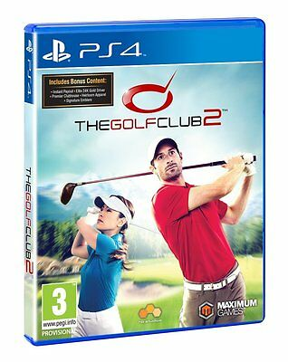 The Golf Club 2  (PS4)  NEW Sealed PAL