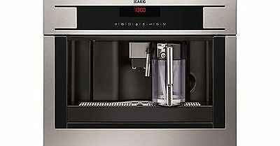 AEG PE4571-M Built In Stainless Steel Touch Control Coffee Espresso Machine