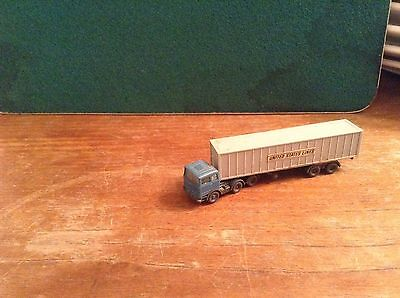 N Gauge United States Lines Truck Wiking