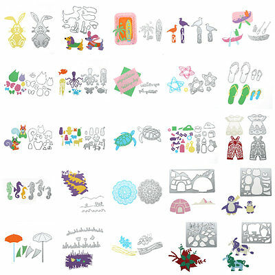 Metal Cutting Dies Stencil Scrapbook Album Paper Card Embossing Craft 27 Styles