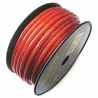 SOUNDQUEST 4 GAUGE AWG 20mm² RED POWER CABLE