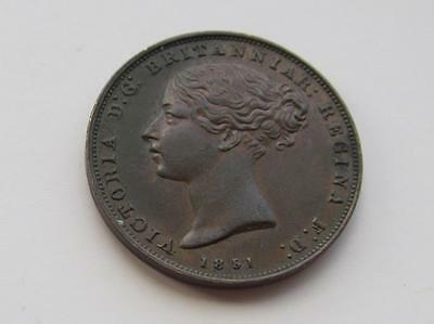 Queen Victoria Jersey 1851 - 1/26th Shilling  -  Excellent collectable coin Unc