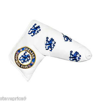 New Chelsea Fc Golf, Blade Putter Cover + Marker