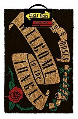 Guns N Roses Welcome To The Jungle Doormat Multi-Colour Offical Product