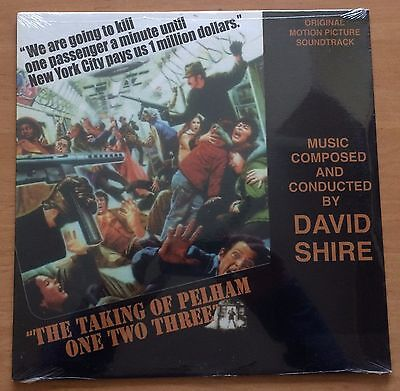 The Taking Of Pelham One Two Three Original Motion Picture Soundtrack D.Shire LP