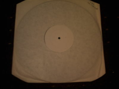 "vhf-love in the night-one side white label 12"" SINGLE"