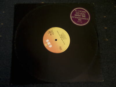 "El Chicano-Do You Want Me-Extended Dance Mix 12"" Single"