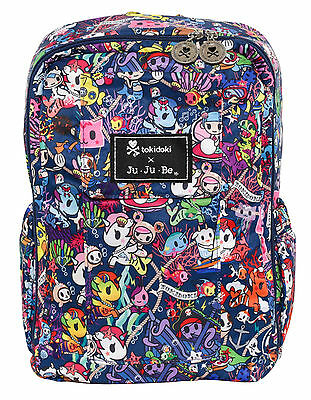 Ju Ju Be Tokidoki X MiniBe Backpack Baby Diaper Bag Sea Punk NEW