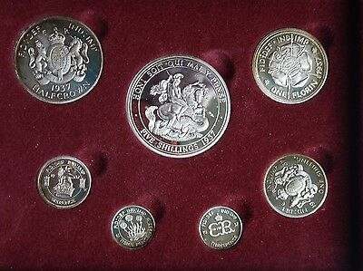 Edward VIII Centenary Pattern Coin Collection In Sterling Silver 1577/3500