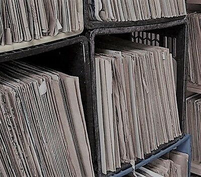 """Large Collection of 100x Various 10"""" 78RPM Gramophone Records"""