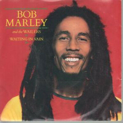 "BOB MARLEY AND THE WAILERS Waiting In Vain 7"" VINYL B/w Blackman Redemption (i"