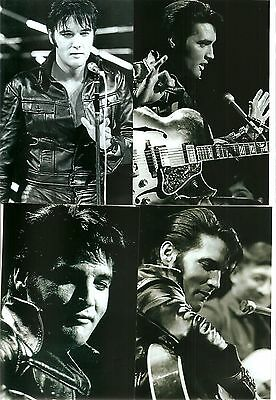 Elvis Presley 19 Photo Black & White Set from the 1968 NBC TV Special & FREE CD!