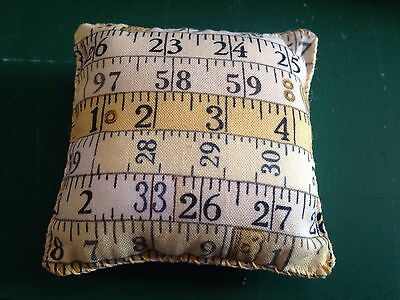 Tape Measure Square Pin Cushion