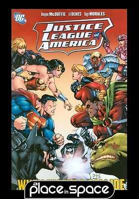 Justice League Of America When Worlds Collide - Graphic Novel