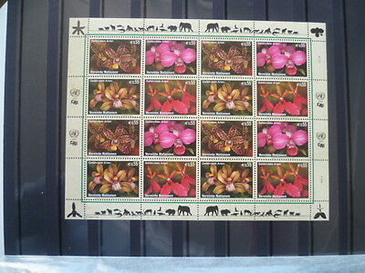 Bloc  Timbres Nation Unies Vienne  **