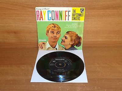 THE RAY CONNIFF SINGERS : YOUNG AT HEART : 4 Track EP : BBE 12449