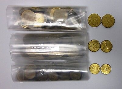 Lot of 150 Euro Coins - 10's, 20's, and 50's Included