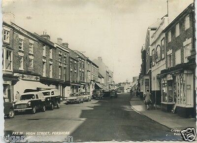 Real Photo Postcard, High Street Pershore