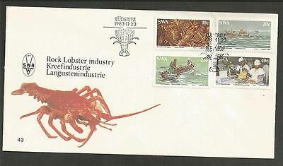 SOUTH WEST AFRICA - 1983 Lobster Industry    - F.D.C