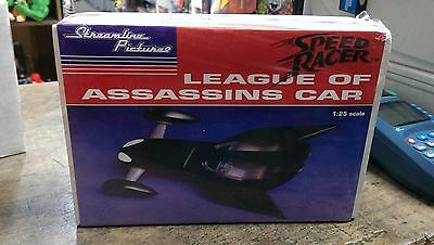 """Speed Racer """"League of Assassins"""" Streamline Pictures 1:25 Resin model 1992 NEW!"""