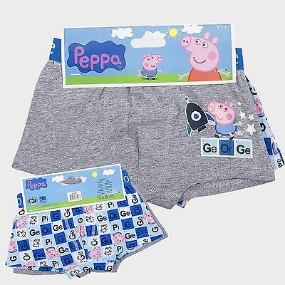 Joblot Of 36 X Boys George Peppa Pig Under Pants Boxer Shorts Age 6,7,8 Years