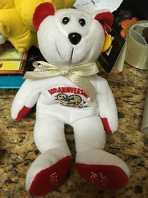 "2001 ""I Love Lucy"" Beanie Bear 50th Anniversary, #8512/10000 MWT LTD ED"