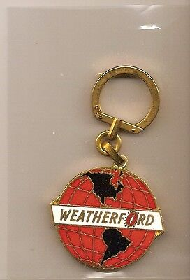 50 year old Weatherford key chain/see photo
