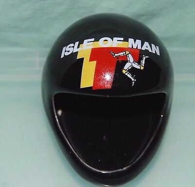 TT Isle of  man Pin Tray / Trinket Tray China Crash Helmet