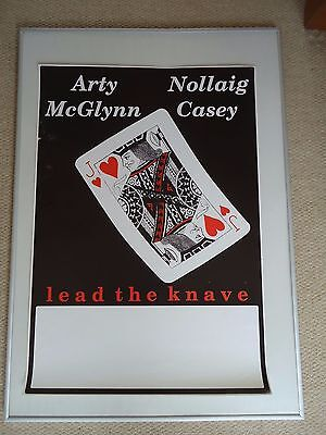 ARTY McGLYNN NOLLAIG CASEY CONCERT GIG POSTER 1989 UNRELEASED PRINTERS POSTER