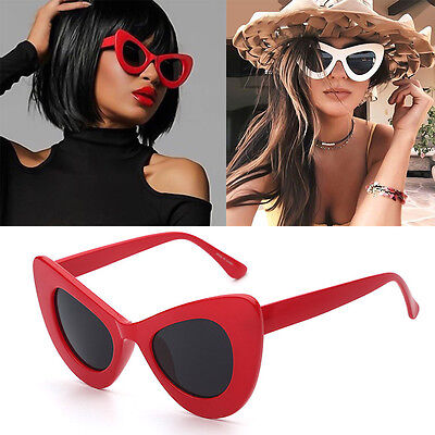 Oversize Ladies Bold Designer Cat eye Women's Sunglasses