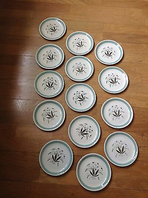 14 x Alfred Meakin Hedgerow Tea Plates - 17cm - A Lovely Collection